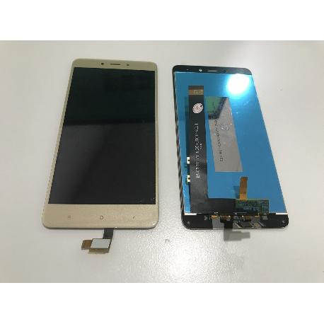 PANTALLA LCD DISPLAY + TACTIL PARA XIAOMI REDMI NOTE 4 / REDMI NOTE 4 PRO - ORO (VERSION 1 HELIO)