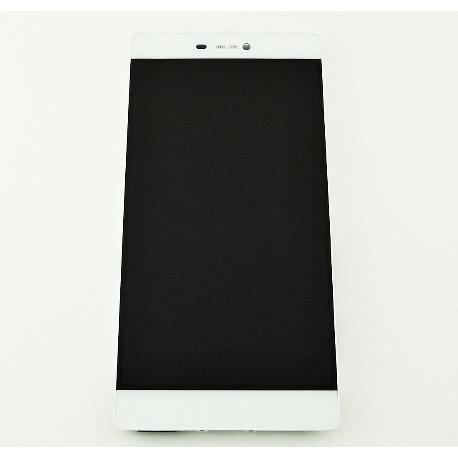 PANTALLA LCD DISPLAY + TACTIL CON MARCO PARA HUAWEI P8 - BLANCA