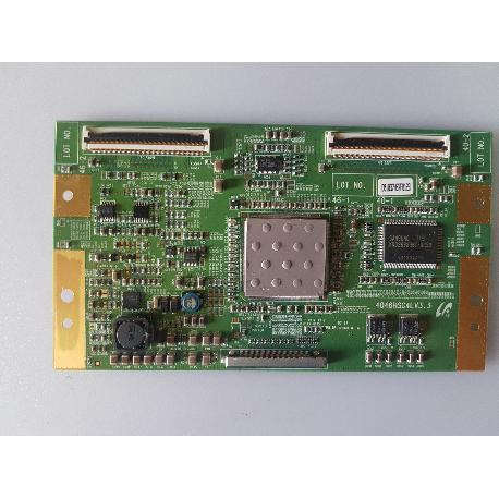 PLACA T-CON BOARD 4046HSC4LV3.3 PARA TV SONY KDL-40W3000 - RECUPERADA