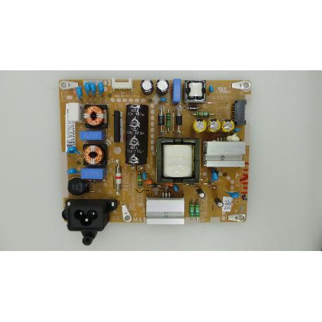 FUENTE DE ALIMENTACIÓN POWER SUPPLY TV LG 43LF5400-ZB EAX66162901 (1.8) EAY63630301