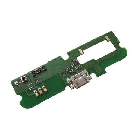 Modulo Conector Carga Micro USB + Microfono Original Alcatel OT-6030