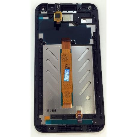 PANTALLA LCD DISPLAY + TACTIL CON MARCO PARA ALCATEL U5 - NEGRA
