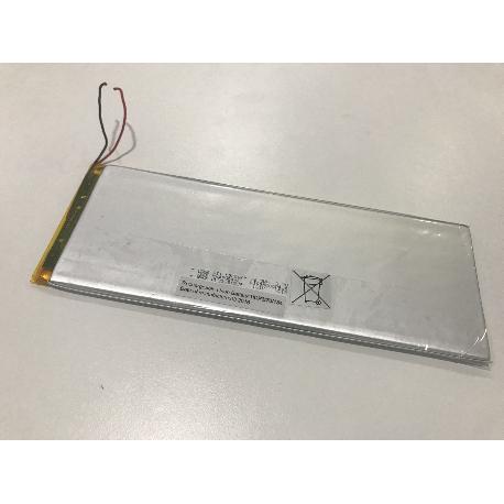 BATERIA (18.5X7)CM 2 CABLES ORIGINAL PARA TABLET PC SELECLINE I127 / 870669 - RECUPERADA