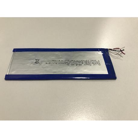 BATERIA (13.5X5)CM 3 CABLES ORIGINAL TABLET QILIVE Q4 MW7619W / 857411 - RECUPERADA