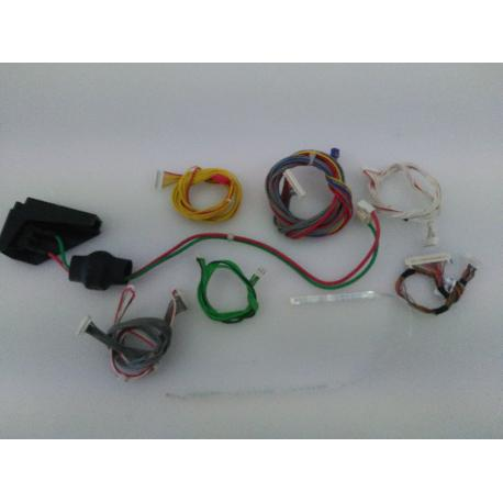 SET DE CABLES ORIGINAL PARA TV OKI TVB32A-PH - RECUPERADO
