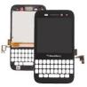 Pantalla lcd + Tactil con marco Carcasa Original BlackBerry Q5 001/111 negra