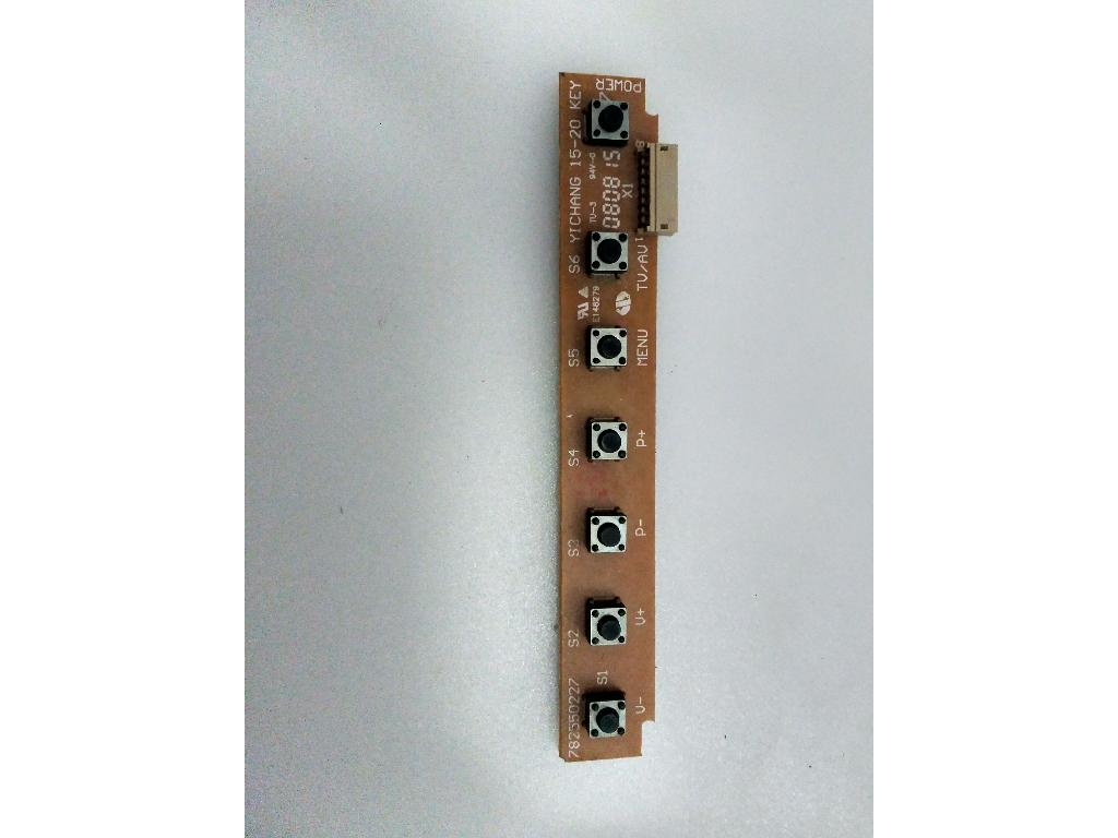 Modulo de botones 782550227 para tv sweyk sw19phd recuperado - Modulo para tv ...
