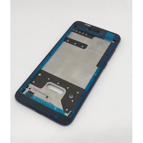 CARCASA FRONTAL DE LCD PARA HUAWEI P8 LITE 2017, HONOR 8 LITE - AZUL