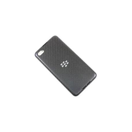 Carcasa Tapa Trasera Bateria Blackberry Z30 Negro