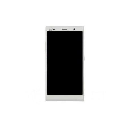 Respuesto Pantalla Lcd + Tactil con Marco Zte Grand Memo II M901C Blanca