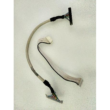 SET DE CABLES ORIGINAL PARA TV HYUNDAI M220W - RECUPERADO