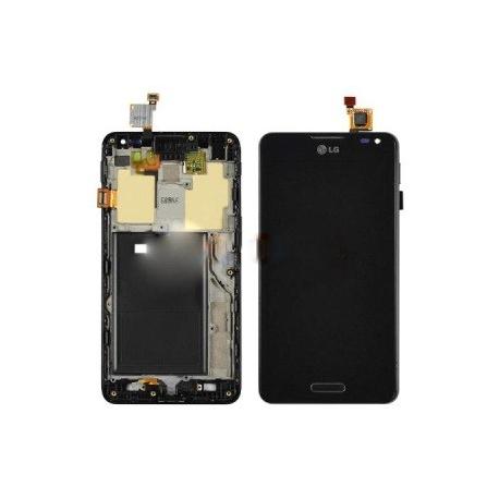 Pantalla Lcd + Tactil con Marco Original LG Optimus F6 D505 Negra