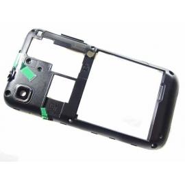 Carcasa Intermdia con Lente de Camara Original Samsung Galaxy S i9000 i9001 Negra