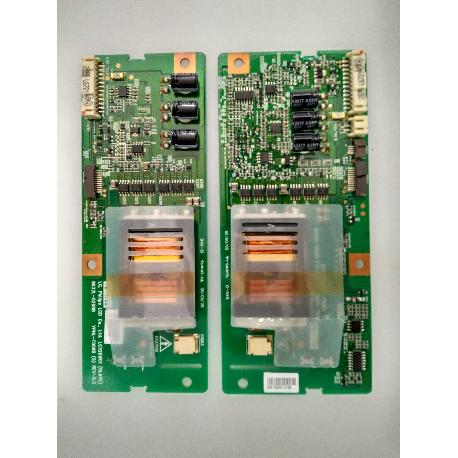 SET PLACAS INVERTER BOARD 6632L-0208B 6632L-0207B PARA TV LG 32LC2DB - RECUPERADO