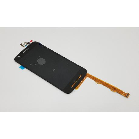 PANTALLA LCD DISPLAY + TACTIL PARA MOTOROLA MOTO E3 POWER - NEGRA