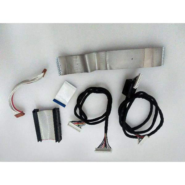 SET DE CABLES ORIGINAL PARA TV WATSON LCD2001TS - RECUPERADO