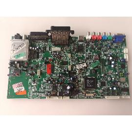 PLACA BASE MAIN BOARD TV HITACHI 42PD6600A 17MB15E-5 - RECUPERADA