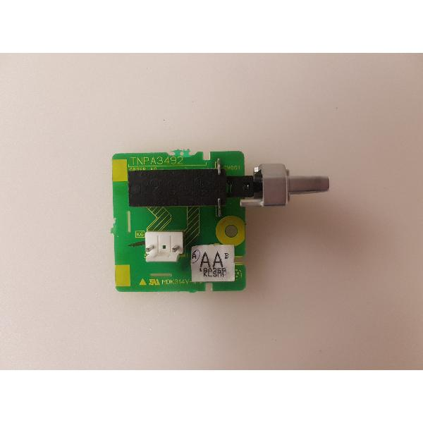 PLACA POWER BUTTON TNPA3492AA PARA TV PANASONIC TX-32LX50F - RECUPERADA