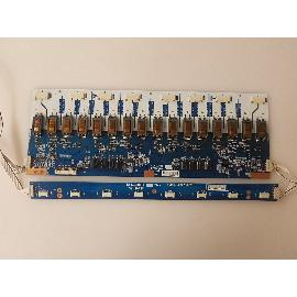 PLACAS INVERTER BOARD KLS-320VE REV 04 - KLS-320FB REV 02 PARA TV PANASONIC TX-32LX50F - RECUPERADAS
