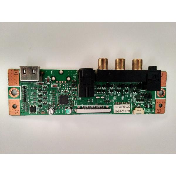MODULO ENTRADA VIDEO LATERAL SIDE AV BN96-05983C PARA TV SAMSUNG LE46N87BD - RECUPERADO