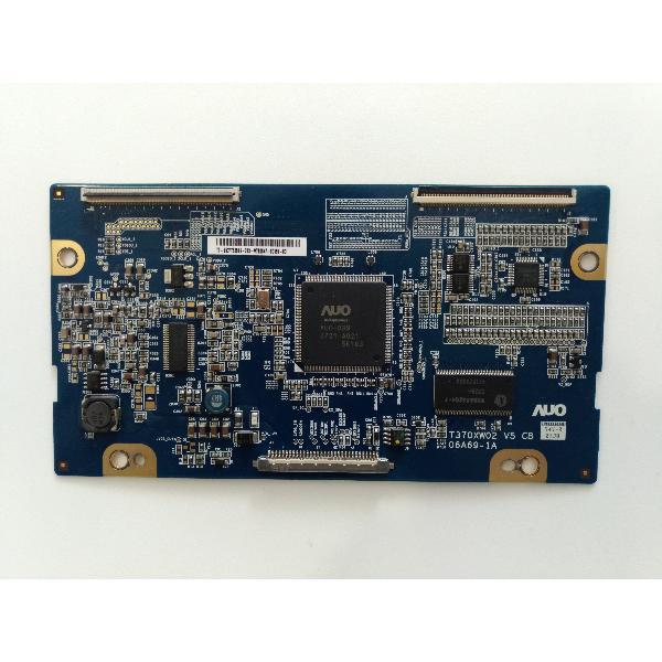 PLACA T-CON BOARD TV PHILIPS 37PFL5522D/12 T370XW02 V5 CB 06A69-1A - RECUPERADA