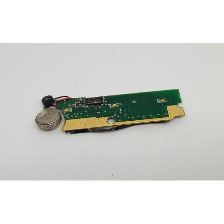 MODULO VIBRADOR + MICROFONO ORIGINAL PARA LAZER MID4706 - RECUPERADO