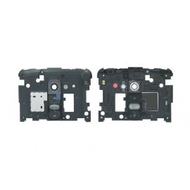 Carcasa Intermedia con Lente de Camara Original LG D802 Optimus G2 Negra