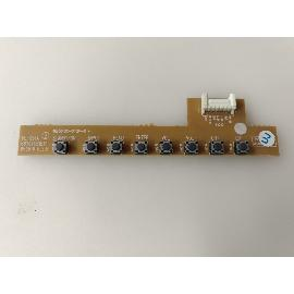 BOTONERA BUTTON BOARD TV LG 32LX2R 6870TC91E11 - RECUPERADA