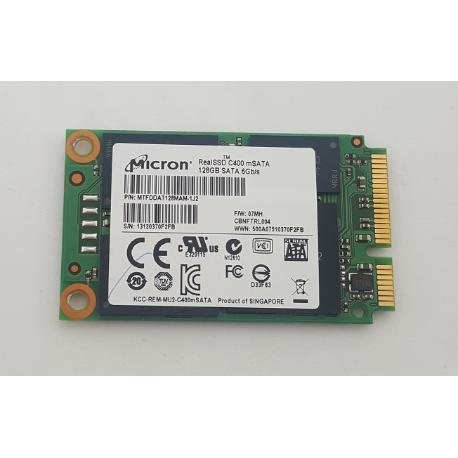 DISCO DURO ORIGINAL REALSSD C400 MSATA 128GB SATA 6GB/S PARA TABLET MICROSOFT SURFACE PRO - RECUPERADO