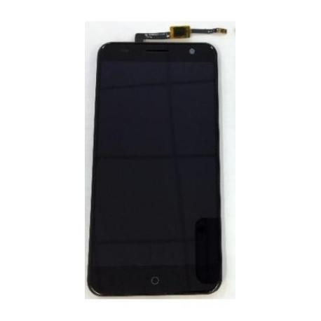 PANTALLA LCD DISPLAY + TACTIL CON MARCO PARA ZTE BLADE V7 - NEGRA