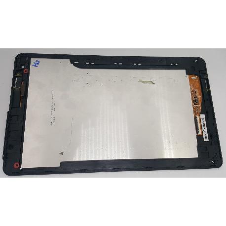 PANTALLA LCD DISPLAY + TACTIL CON MARCO ORIGINAL PARA TABLET QILIVE Q7T10INP - RECUPERADA