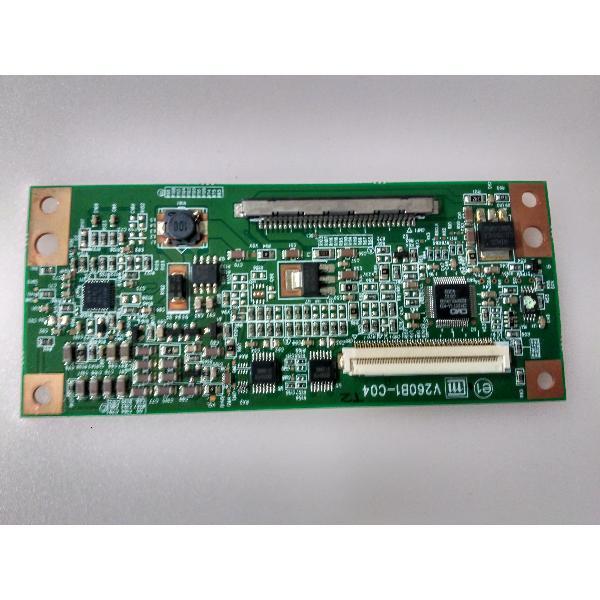 PLACA T-CON BOARD V260B1-C04 PARA TV SAMSUNG LE26A336J1D - RECUPERADA