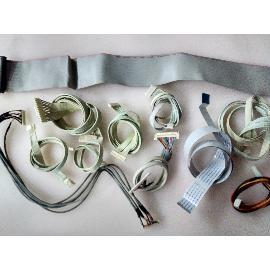 SET DE CABLES ORIGINAL PARA TV DMTECH LT42RTY - RECUPERADO