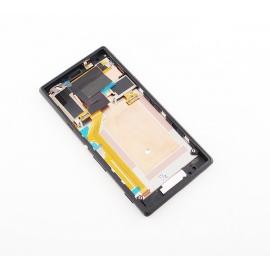 Pantalla Lcd + Tactil con marco Original Sony Xperia M2 D2303 D2305 D2306 Negra de Desmontaje