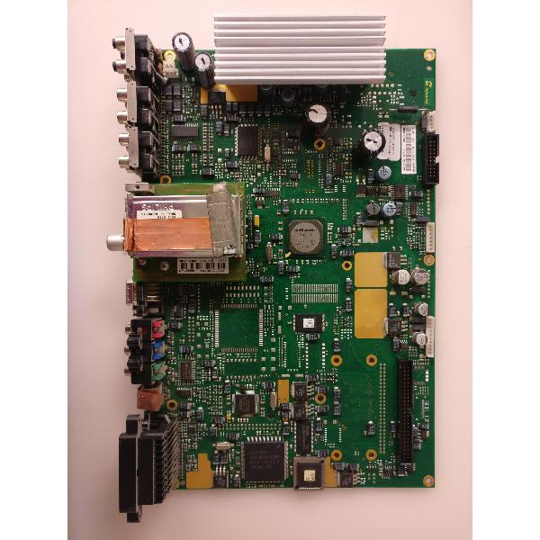 PLACA BASE MAIN MOTHERBOARD 4042-6310-6505 PARA TV SABA T4210 - RECUPERADA