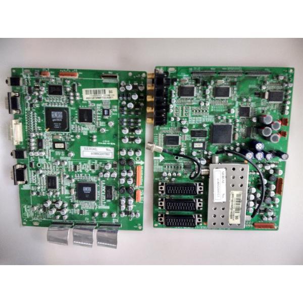 SET PLACA BASE MAIN MOTHERBOARD 6870VS1983E PARA TV LG RZ-42PX11 - RECUPERADO