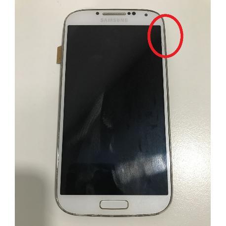 PANTALLA LCD + TÁCTIL CON MARCO ORIGINAL SAMSUNG GALAXY S4 I9505 BLANCA - RECUPERADA TARA