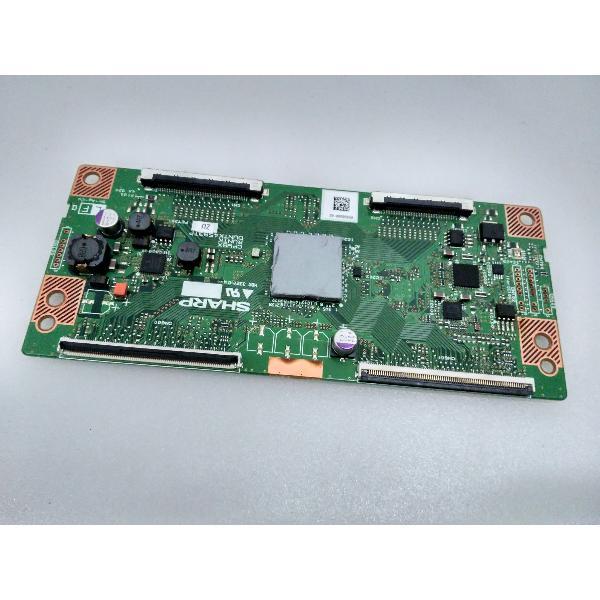 PLACA T-CON BOARD DUNTK4593TP ZU PARA TV SHARP LC-40LE730E - RECUPERADA