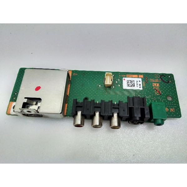 MODULO ENTRADA DE VIDEO LATERAL SIDE AV BOARD 1-874-739-11 PARA TV SONY KDL-40V3000 - RECUPERADO