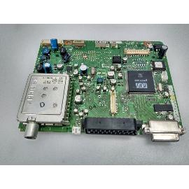 PLACA BASE MAIN MOTHERBOARD 3139 123 60191 PARA TV PHILIPS 20PF4110-01 - RECUPERADA