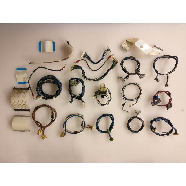 SET DE 16 CABLES + 5 FLEX PARA TV PANASONIC TH-42PA60E - RECUPERADO