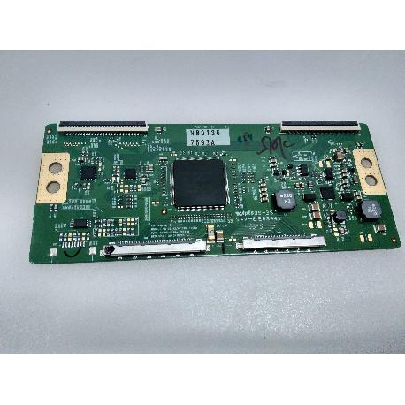 PLACA T-CON BOARD 6870C-0358A PARA TV LG 42LW650S - RECUPERADA