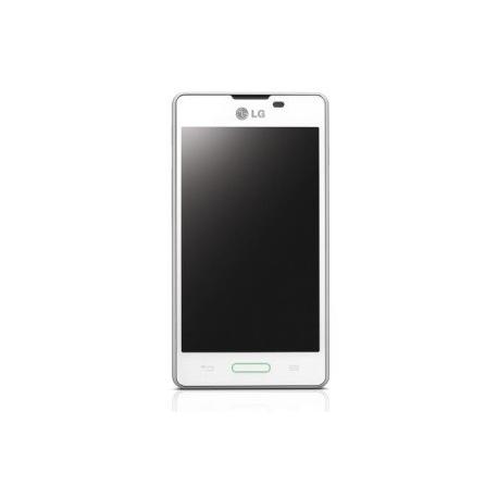 Pantalla lcd + tactil con marco para nuevo lg optimus L5 2 e460 Blanca