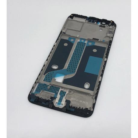CARCASA FRONTAL DE LCD PARA ONEPLUS 5 - NEGRA