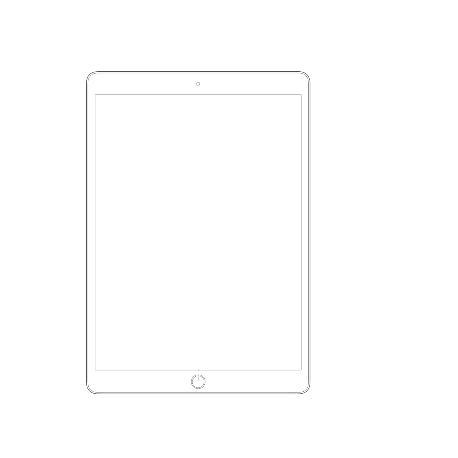 PANTALLA LCD DISPLAY + TACTIL PARA IPAD PRO 10.5 PULGADAS - BLANCA