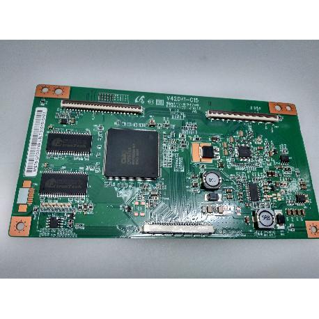 PLACA T-CON BOARD V420H1-C15 PARA TV NEVIR NVR-7044 TDXT-22N - RECUPERADA