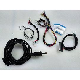 SET DE CABLES ORIGINAL PARA TV SHARP LC-32LE244E - RECUPERADO