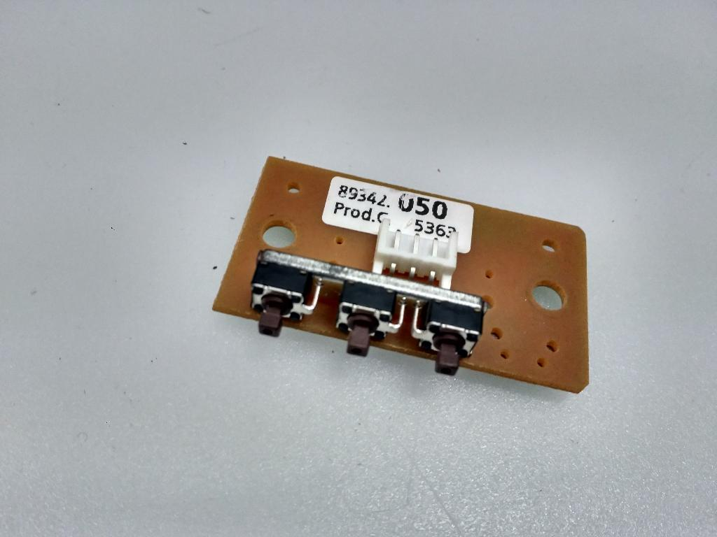 Modulo De Botones Key Board 89342010 Para Tv Loewe Xelos