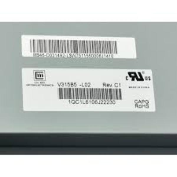 """BLOQUE PANTALLA LCD PANEL 32"""" V315B5-L02 REV.C1 PARA TV OKI V32B-H - RECUPERADO"""