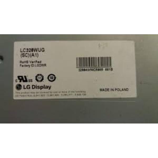 "BLOQUE PANTALLA LCD PANEL 32"" LC320WUG (SC) (A1) PARA TV LG 32LD650-ZC - RECUPERADO"